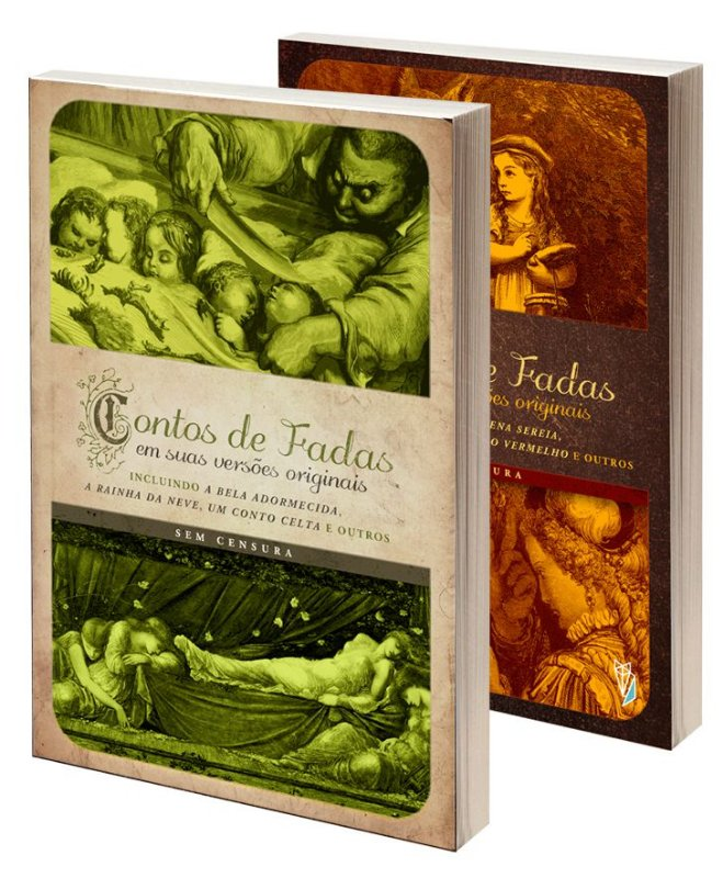 Starter Kit: Dois volumes da coleção Contos de Fadas em suas versões originais