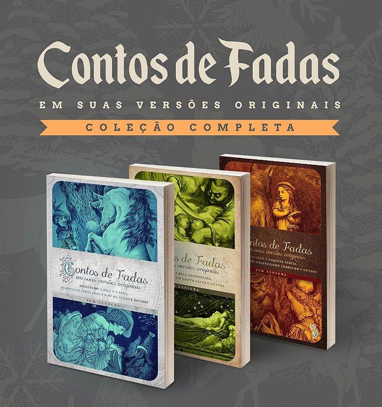 Kit lançamento: Coleção completa Contos de Fadas originais