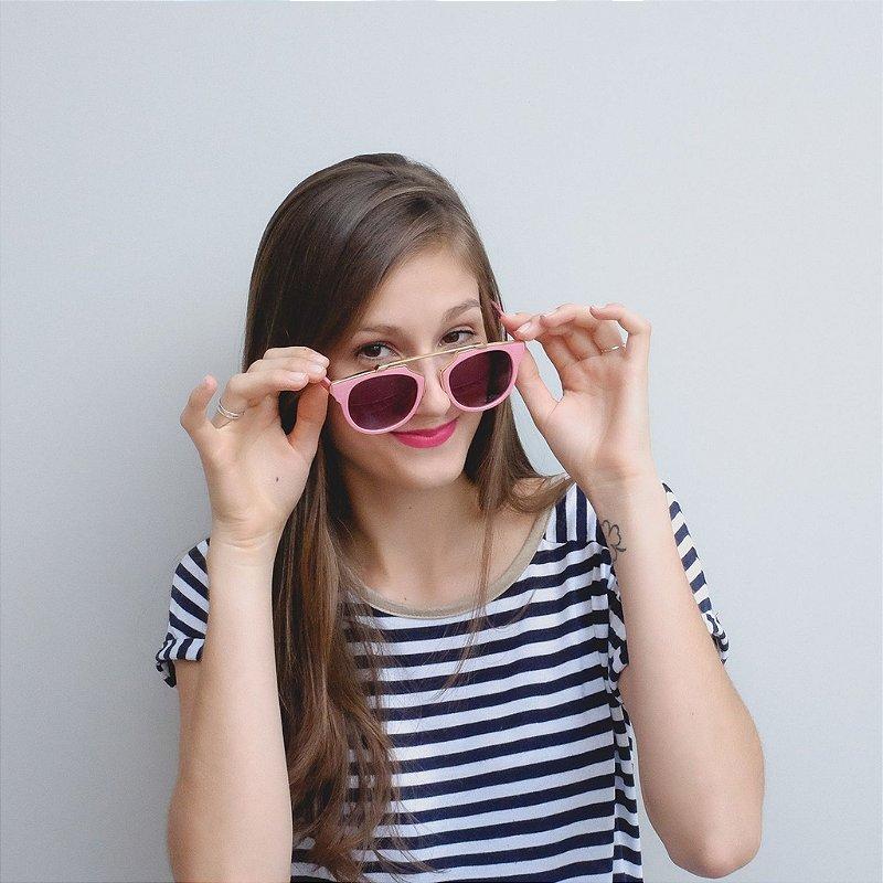 Óculos de Sol Zocla |Trendy Pink