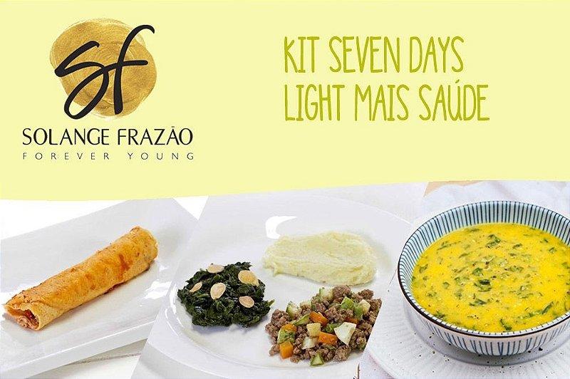 Kit Seven Days Light Mais Saúde - 7 dias - 670 Kcal