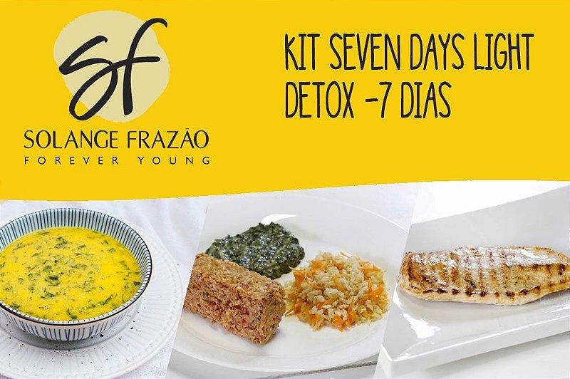 Kit Seven Days Light Detox - 7 dias - 1012 Kcal