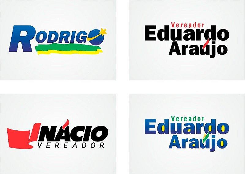 Identidade Visual para Política - Logotipo, Adesivo, Santinho, Banner, Capa Facebook, Post Instagram e Assinatura de email