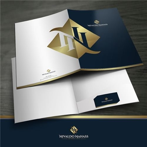 Logotipo, Papel Timbrado, Pasta, Assinatura de e-mail e Cartão de Visita