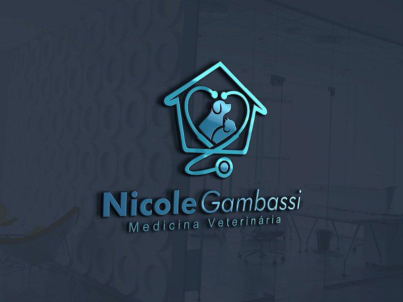Design de Logotipo + Design do Cartão de Visita e Fachada