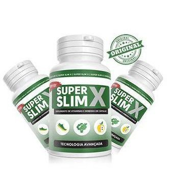 Super Slim X 3 Potes 180 Cápsulas 640mg