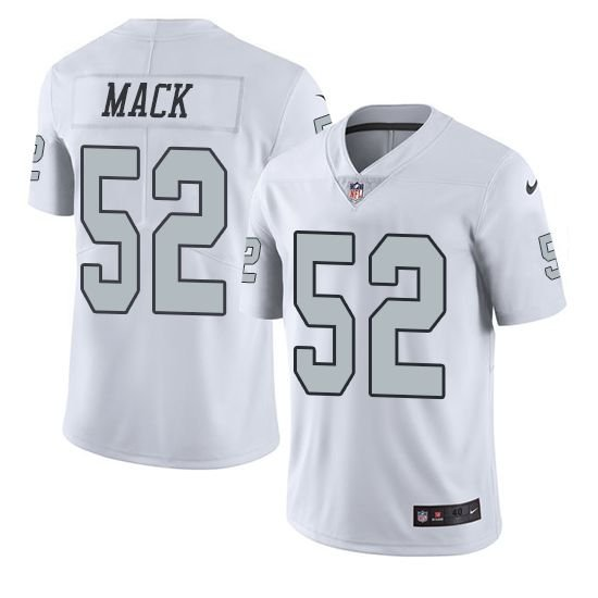 167eb9c06d Camisa Oakland Raiders Khalil MACK  52 Color Rush - Touchdown Store