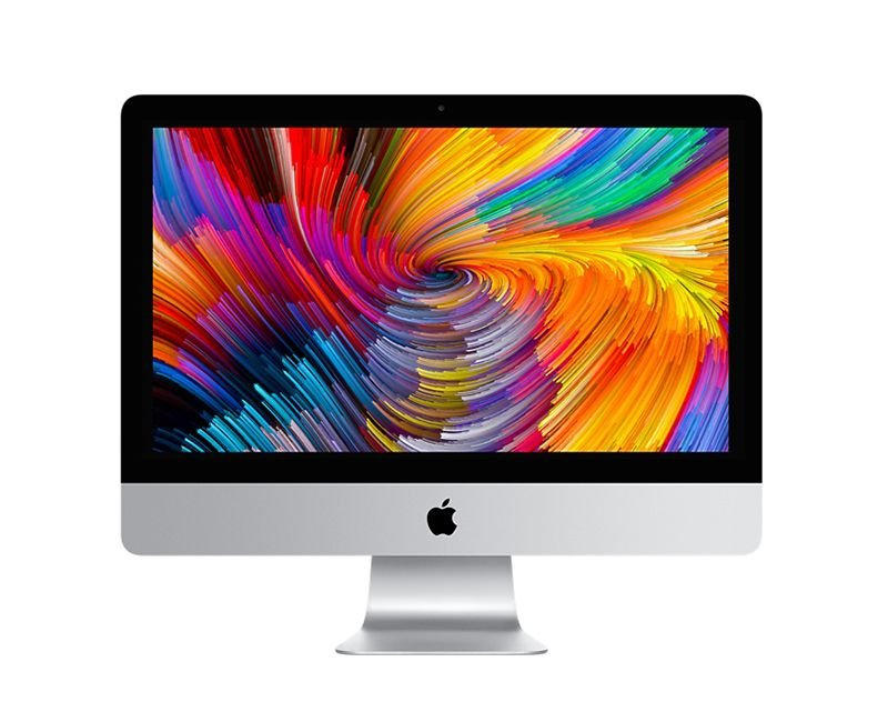 Apple iMac 2017 / 2018 Tela 21,5 4K MNE02BZ/A com Intel Core i5 quad core de 3,4GHz 8GB 1TB Fusion drive - Radeon Pro 560 com 4 GB - MNE02