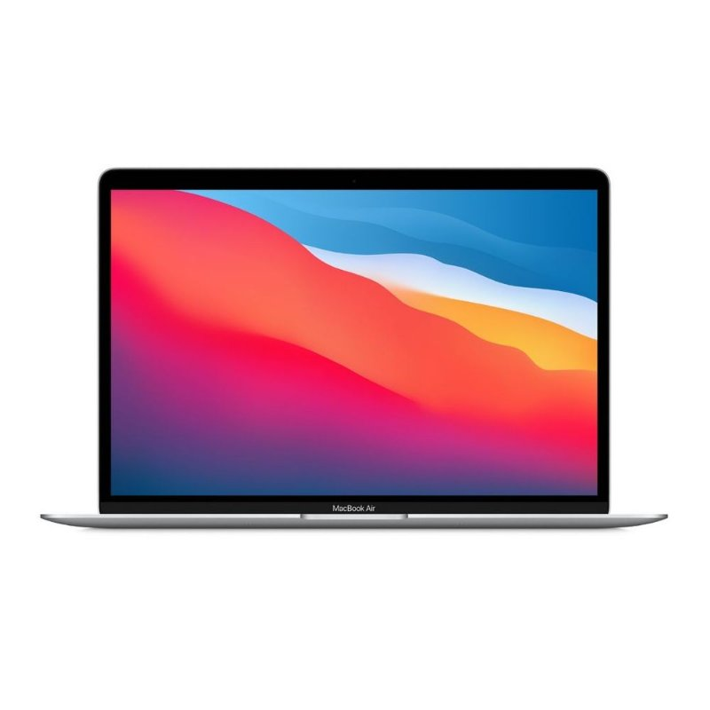 Apple Macbook Air M1 8gb 256gb Ssd Silver Prateado Prata 2020 2021 MGN93BZ/A MGN93LL/A MGN93