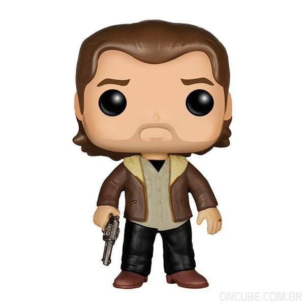 Boneco Funko Pop Rick Grimes The Walking Dead 306 On Cube
