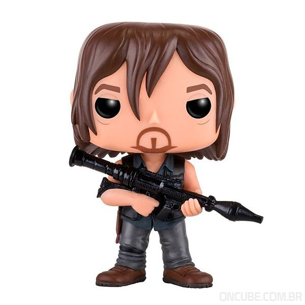 Boneco Funko Pop Daryl Dixon The Walking Dead 391 On Cube