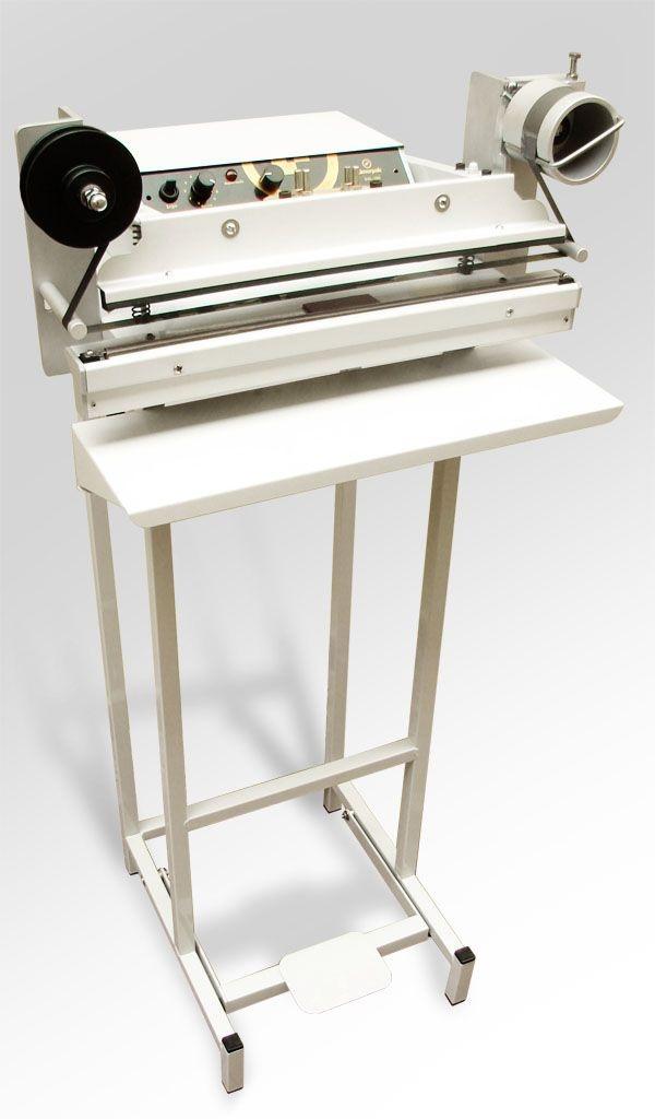 Seladora com datador hot stamping