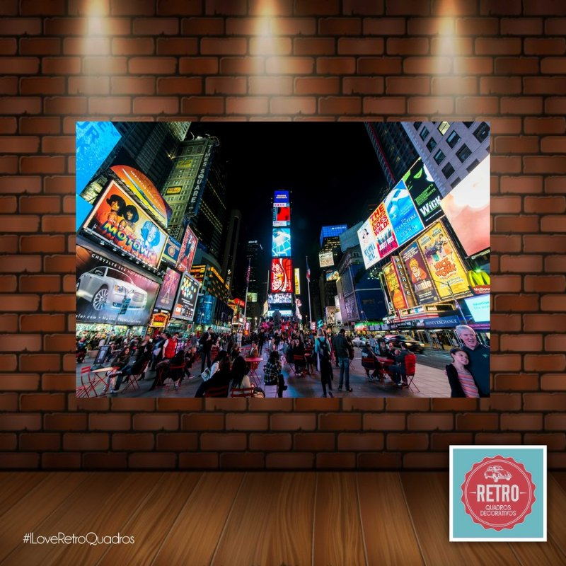 Quadro Times Square - Nova York