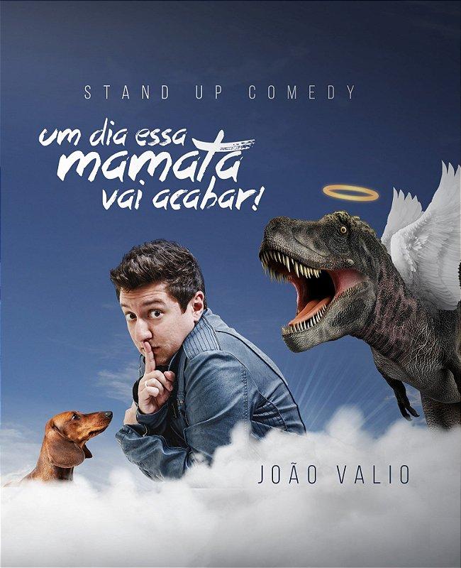 DVD - UM DIA ESSA MAMATA VAI ACABAR! (AUTOGRAFADO) - JOÃO VALIO