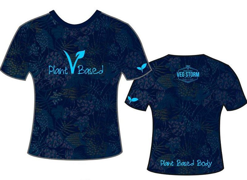 Camiseta dry fit florida azul escura coleção 2019