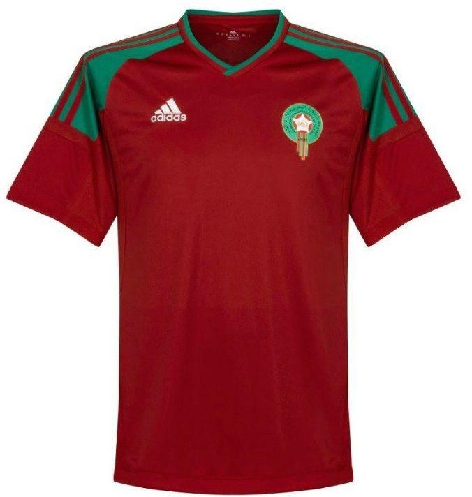 d0151fc19 Camisa Seleção Marrocos Home Copa do Mundo 2018 - Personalização e Frete  Grátis