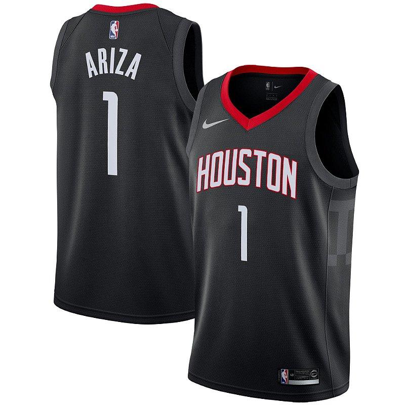 e483689de0904 Camisa Regata Nba Basquete Houston Rockets  1 Ariza - Sport Jersey -  Melhores Jersey Pra Você!