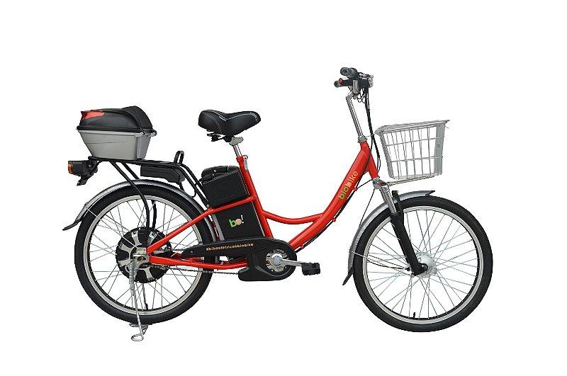 Bicicleta Elétrica Biobike, Quadro em aço, Modelo CONFORT