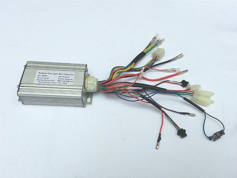 Controladora 48v C/ Alarme JS 150
