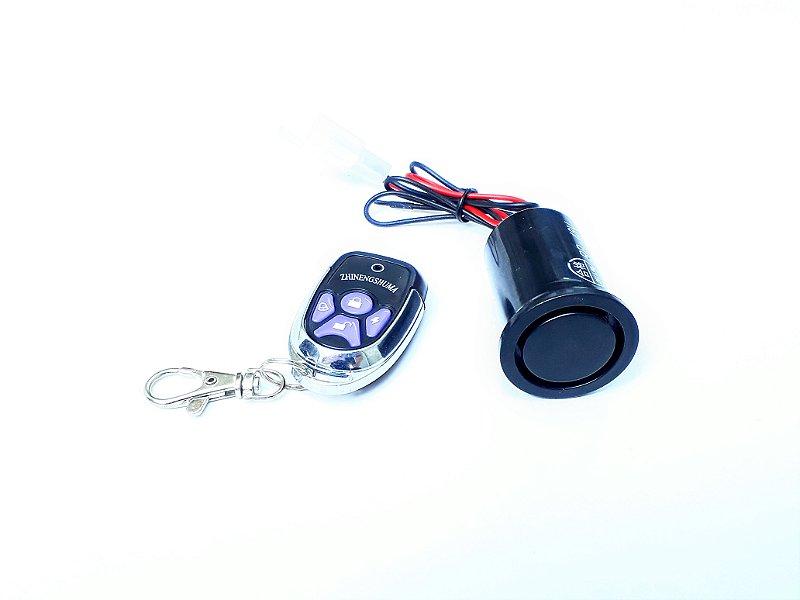 Alarme 36/48V de Sensibilidade C/Controle Remoto