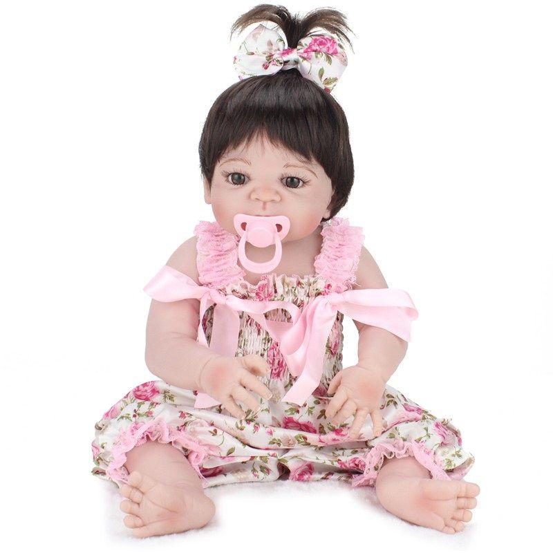 Bebê Reborn de Silicone Sara Pronta Entrega