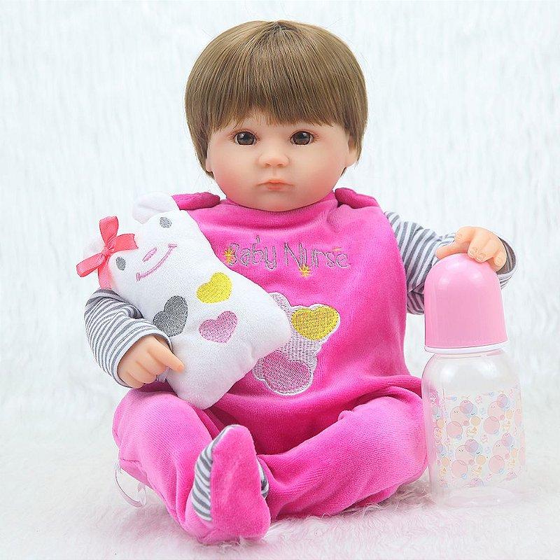 Bebê Reborn Laura 40 cm Pronta Entrega