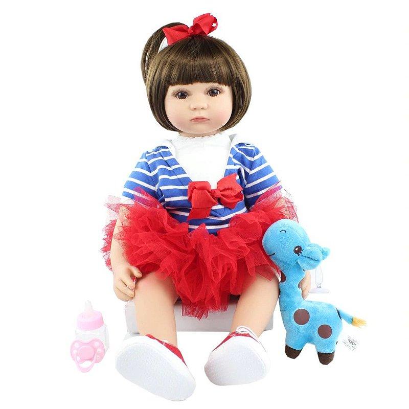Bebê Reborn Menina Alice Linda Princesa