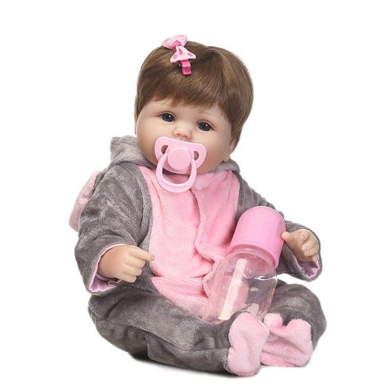 Bebê Reborn Gabi 48 cm Pronta Entrega