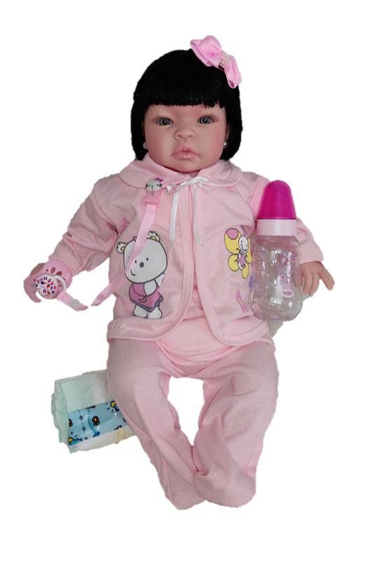 Bebê Reborn Nathalia 50 cm Super Promoção
