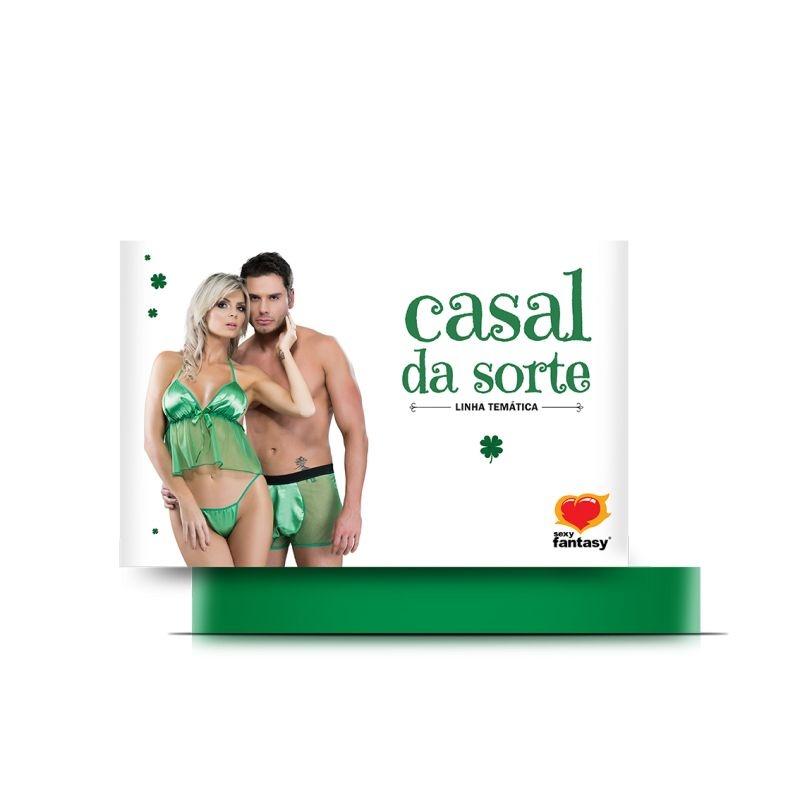 Fantasia Casal da Sorte Sexy Fantasy - 6609