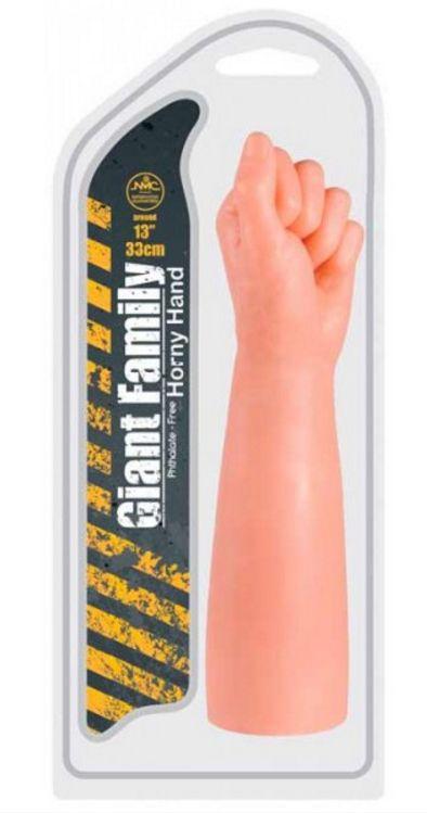 Penetrador Punho Giant Family 30,5 x 7 cm Pele - N8291