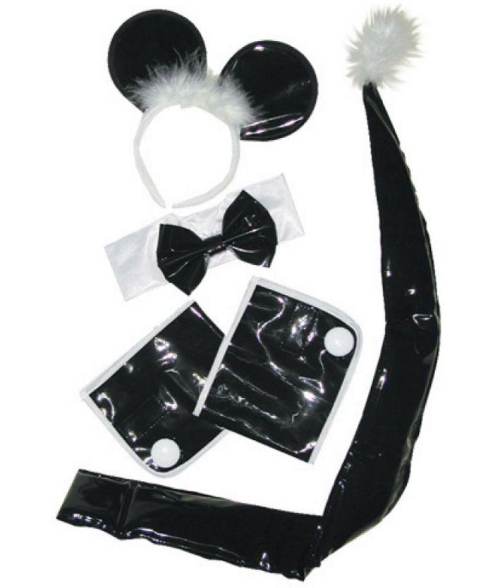 Fantasia Mouse Preto e Branco - SS2395