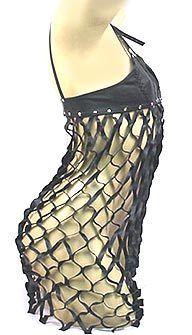 Vestido Rede em Couro - VT002