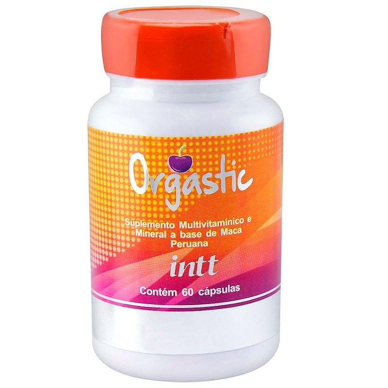 Orgastic Intt 60 Cápsulas Suplemento para Aumentar a Libido