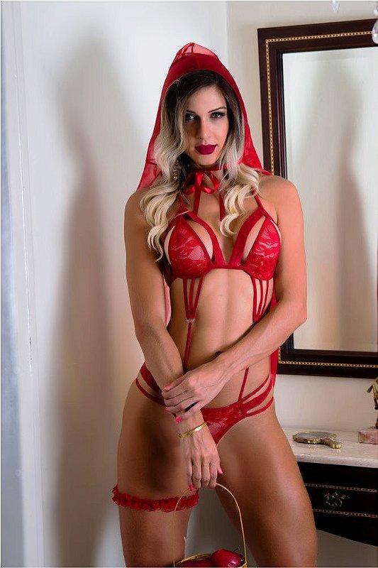 Fantasia Chapeuzinho Vermelho Tam P - 02032