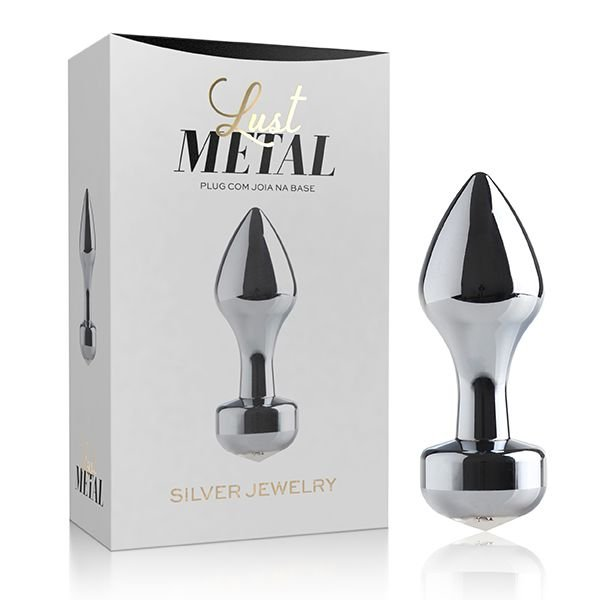 Plug Anal Lust Metal Silver Jewelry - LM016