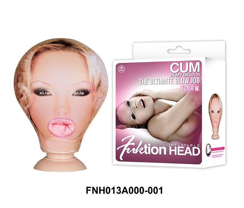Fuktion Head Inflatable Cabeça Boneca Inflável Penetrável - NAN011