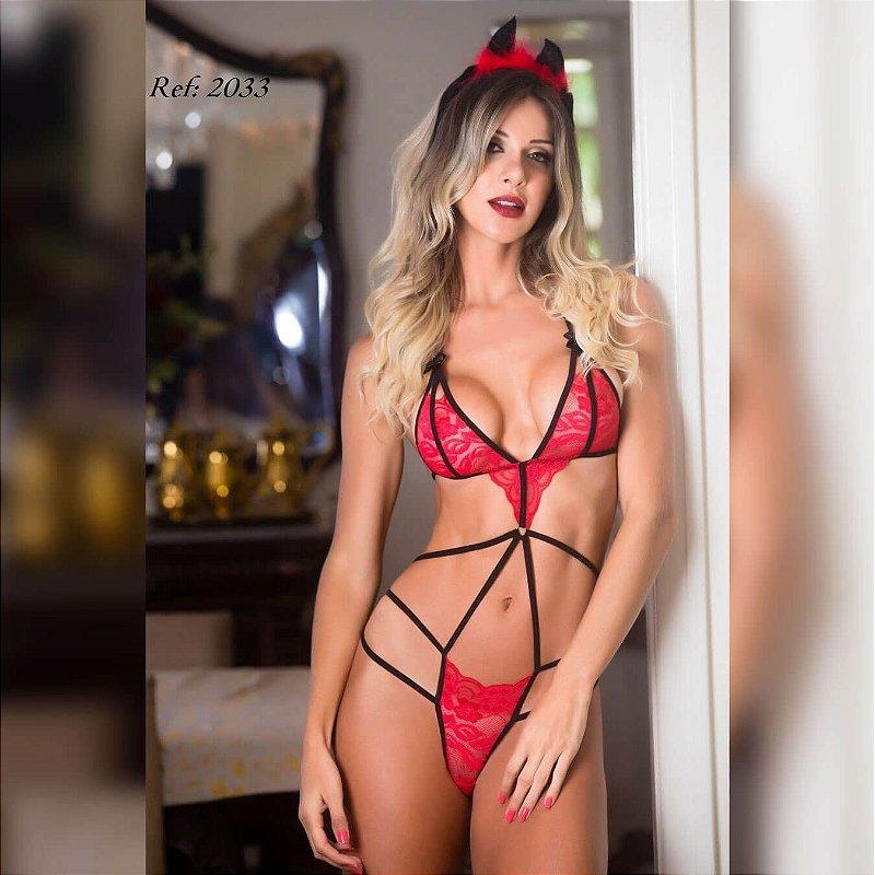 Fantasia Body Diabinha - 02033
