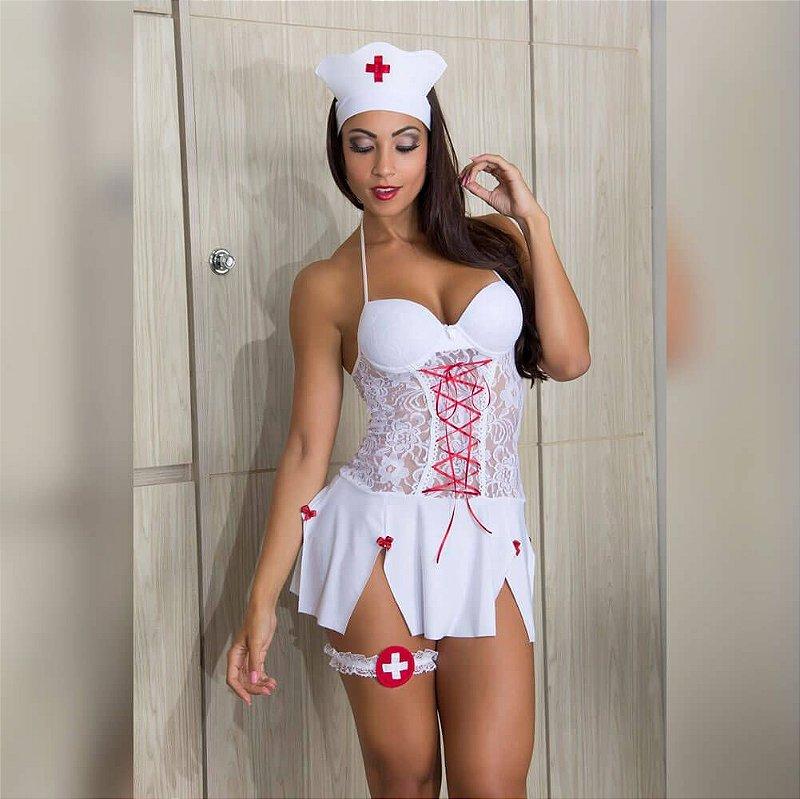 Fantasia Enfermeira Sexy - 00298