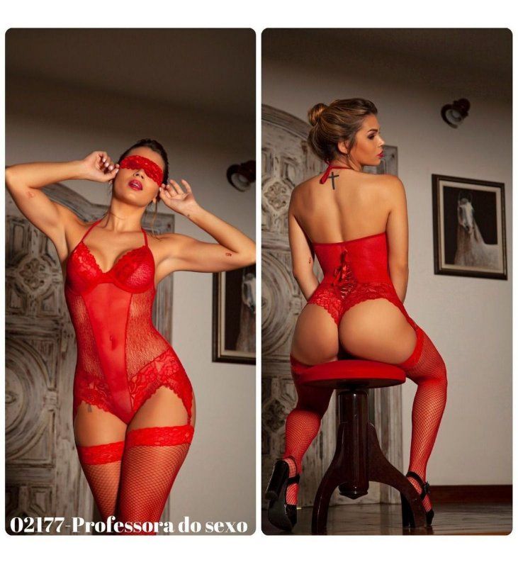 Fantasia Body Professora do Sexo - 02177
