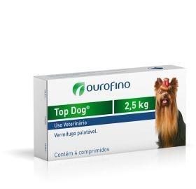 Top Dog Vermífugo (2,5kg, 10kg e 30kg)