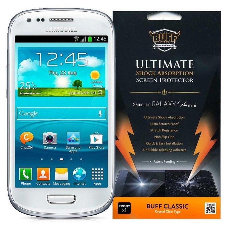 Película Buff anti-impacto p/ Samsung galaxy s4 mini