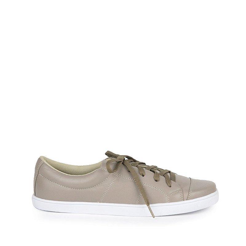 Sneaker em Couro MOD203 Fendi