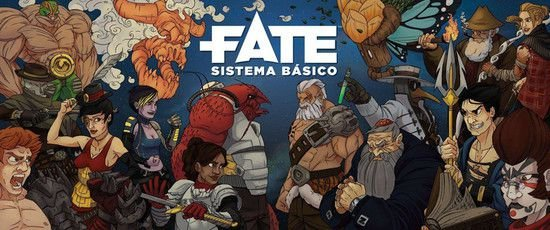 FATE - Divisória do Narrado - (3 abas)