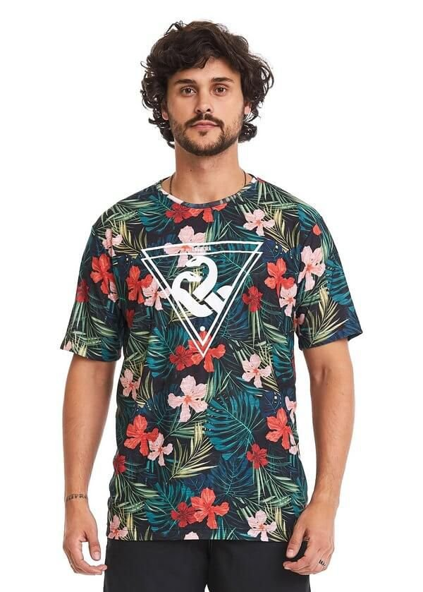 Camiseta Estampada - Tropical