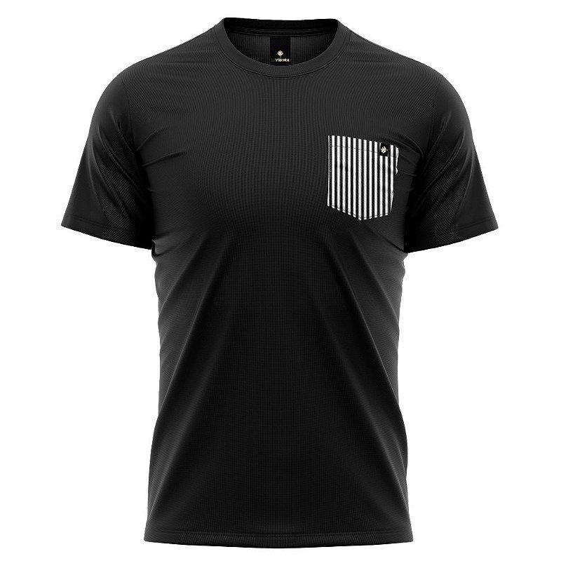 Camiseta Bolso Estampado - Listraz