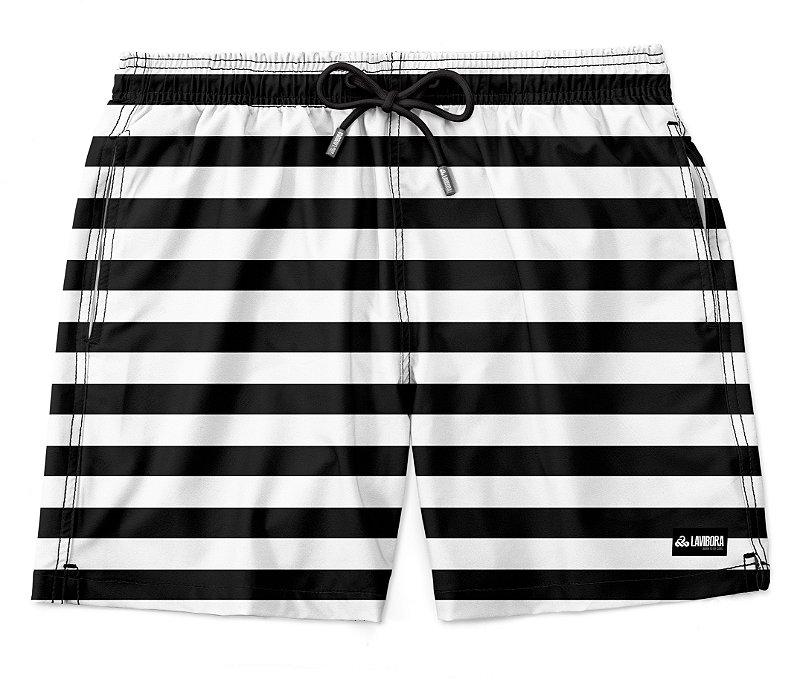 Shorts Praia Masculino Estampado LaVíbora - Listrado