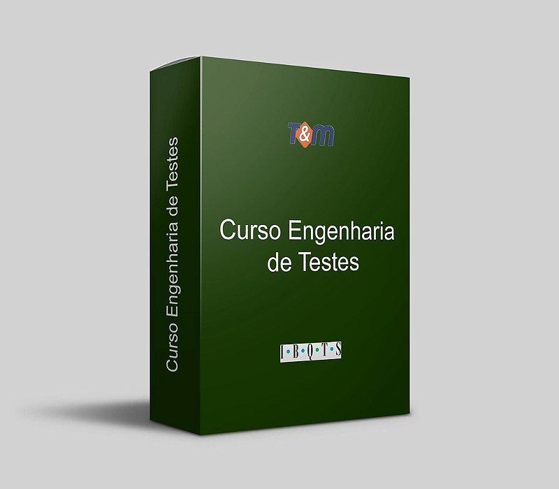 Curso Engenharia de Testes + Exame de Certificação São Paulo (06 a 10 de Maio 2019)