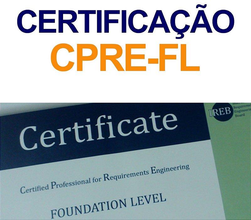 EXAME DE CERTIFICAÇÃO CPRE-FL