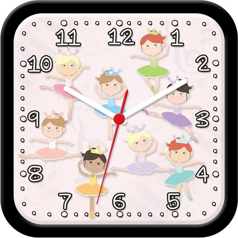 Relógio de Parede Divertido - Bailarinas