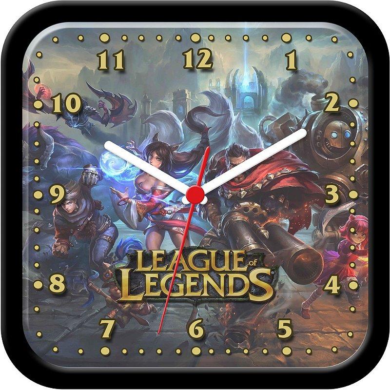 Relógio de parede Divertido - League of Legends
